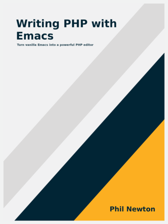 "Book Cover for ""Writing PHP with Emacs"""